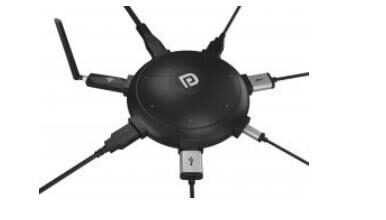 Portronics UFO PRO charging station