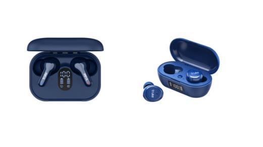 Truke TWS Buds Q1 & Fit 1+ in Blue colour